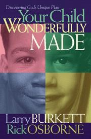 Cover of: Your child wonderfully made