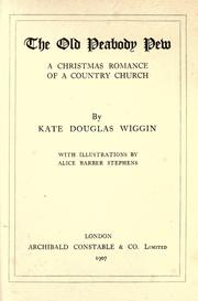 The Old Peabody Pew by Kate Douglas Smith Wiggin