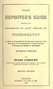 Cover of: The reporter's guide