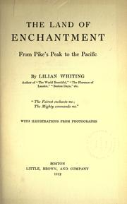 Cover of: The land of enchantment by Lilian Whiting