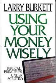 Cover of: Using your money wisely