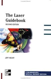 Cover of: The Laser Guidebook | Jeff Hecht