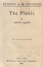 Cover of: The plants: with many illustrations.