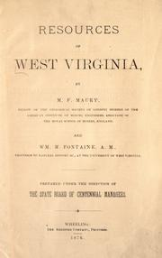 Cover of: Resources of West Virginia