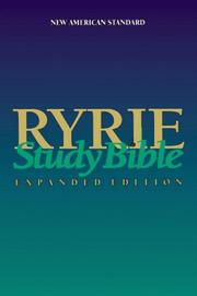 Cover of: Ryrie Study Bible NAS
