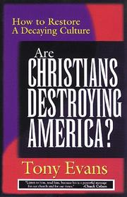 Cover of: Are Christians Destroying America
