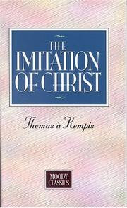 Cover of: Imitation Of Christ (Moody Classics) by Thomas à Kempis