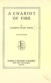 Cover of: A Chariot of Fire