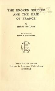 Cover of: The broken soldier and the maid of France