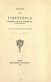 Cover of: Tales of Firenzuola