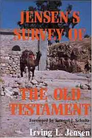 Cover of: Jensen's survey of the Old Testament by Irving Lester Jensen