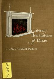 Cover of: Literary hearthstones of Dixie