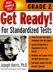 Cover of: Get Ready! for Standardized Tests  | Joseph Harris