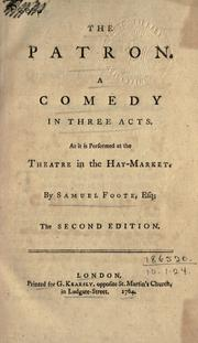 Cover of: The patron