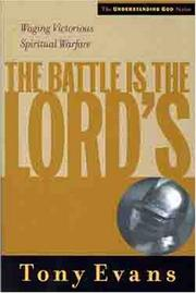 Cover of: The Battle is the Lords
