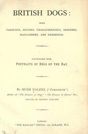 Cover of: British dogs by Hugh Dalziel