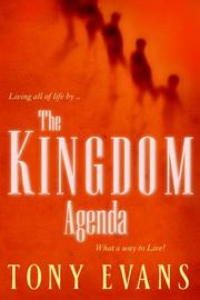 Cover of: The Kingdom Agenda