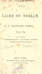 Cover of: The laird of Norlaw