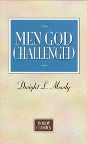 Cover of: Men God challenged