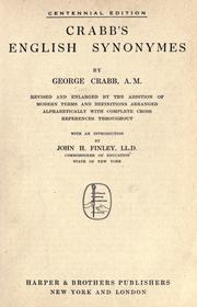 Crabb's English synonymes by George Crabb