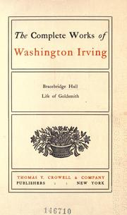 Cover of: The complete works of Washington Irving