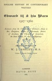 Cover of: Edward III & his wars, 1327-1360