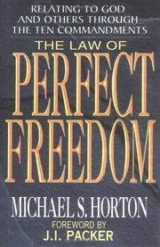 Cover of: The law of perfect freedom