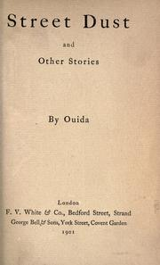 Cover of: Street dust, and other stories