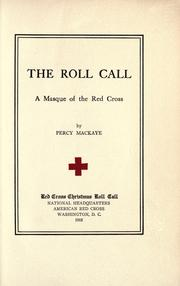 Cover of: The roll call