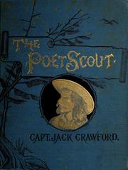 Cover of: The poet scout: A book of song and story.