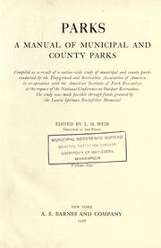 Cover of: Parks by