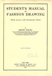 Cover of: Student's manual of fashion drawing | Edith Young