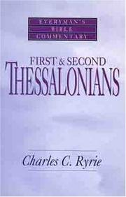 Cover of: First & Second Thessalonians- Bible Commentary (Everymans Bible Commentaries)