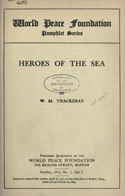 Cover of: Heroes of the sea