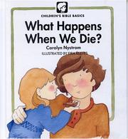 Cover of: What happens when we die?