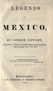 Cover of: Legends of Mexico