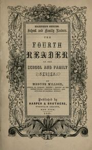 Cover of: The fourth reader of the School and family series
