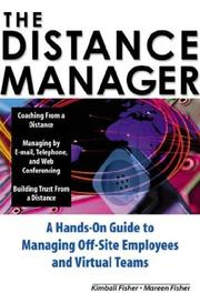 Cover of: The Distance Manager | Kimball Fisher
