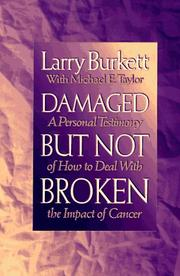 Cover of: Damaged but not broken