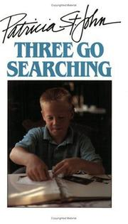 Cover of: Three Go Searching