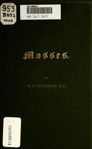 Cover of: Mosses