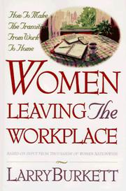 Cover of: Women Leaving the Workplace