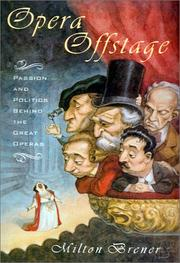 Cover of: Opera offstage
