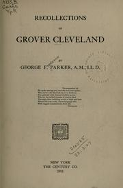Cover of: Recollections of Grover Cleveland