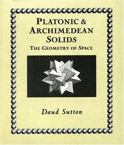 Cover of: Platonic & Archimedean Solids (Wooden Books) | Daud Sutton