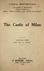 Cover of: The castle of Milan