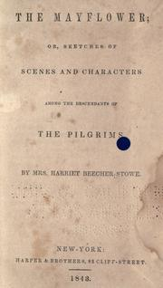 Cover of: The Mayflower: and miscellaneous writings