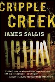 Cover of: Cripple Creek | James Sallis