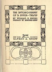 Cover of: The avtobiography of a svper-tramp