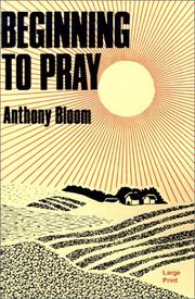 Cover of: Beginning to pray
